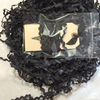 Lady Dot Creates Licorice Rick Rack 7/32