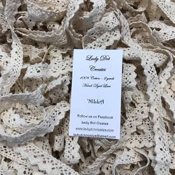 Lady Dot Creates Hand-dyed Lace 'Nilla