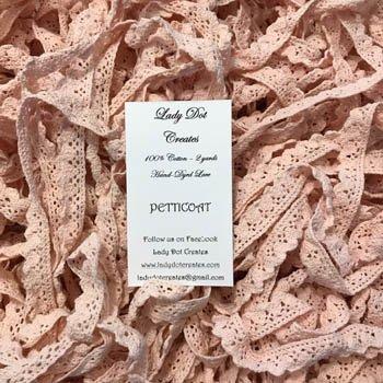 Lady Dot Creates Hand-dyed Lace Petticoat