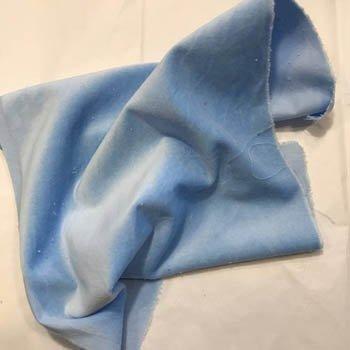 Lady Dot Velveteen Bluebells 18x10