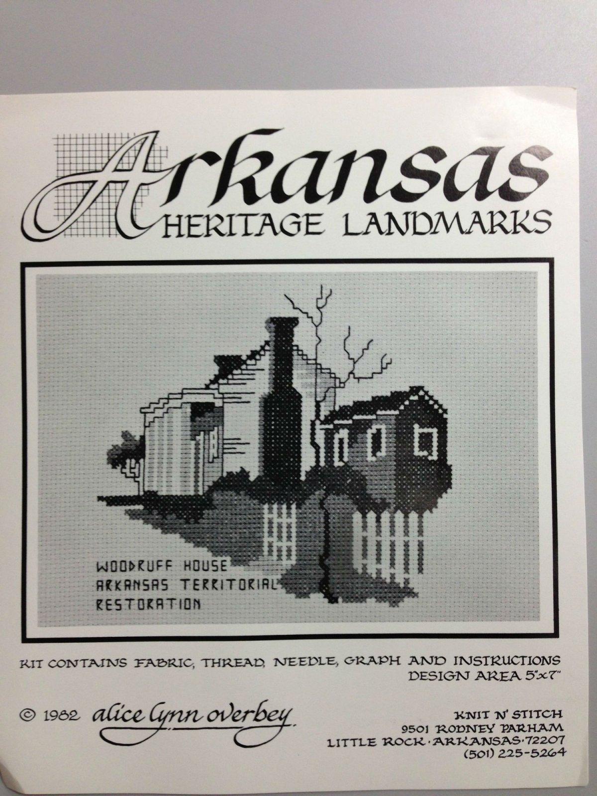 Alice Lynn Overbey Arkansas Heritage Landmarks Woodruff House Arkansas Territorial Restoration