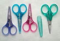 3.75 Cotton Candy Emb. Scissors - Teal