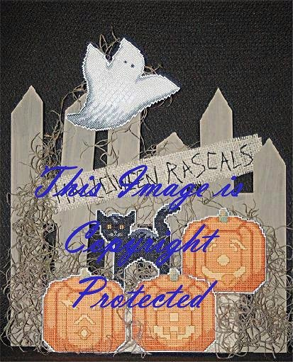 Linda Jeanne Jenkins The Heart & Home Collection Halloween Rascals