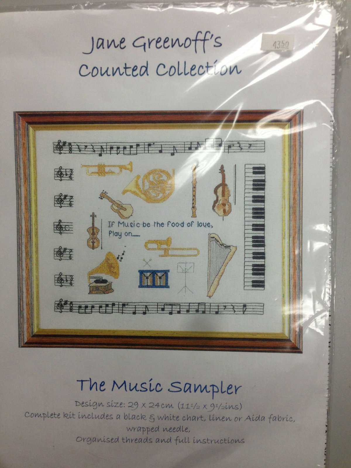 Jane Greenhoff's Counted Collection The Music Sampler