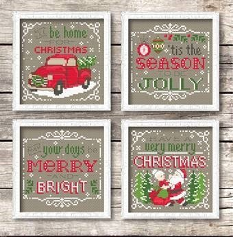 tinymodrnist Christmas Signs