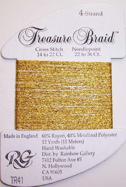Rainbow Gallery Treasure Braid TR41