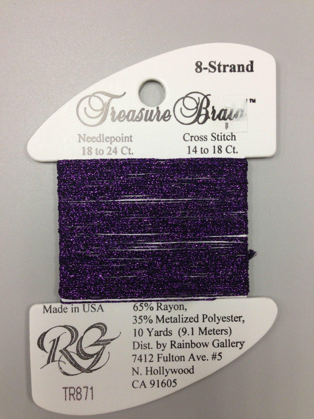 Rainbow Gallery Treasure Braid TR871