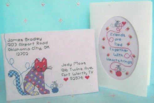 Twisted Oaks Designs Dear Friend Mail Art