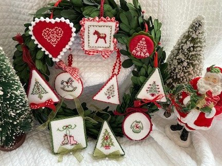 JBW Designs Christmas Ornament Collection III