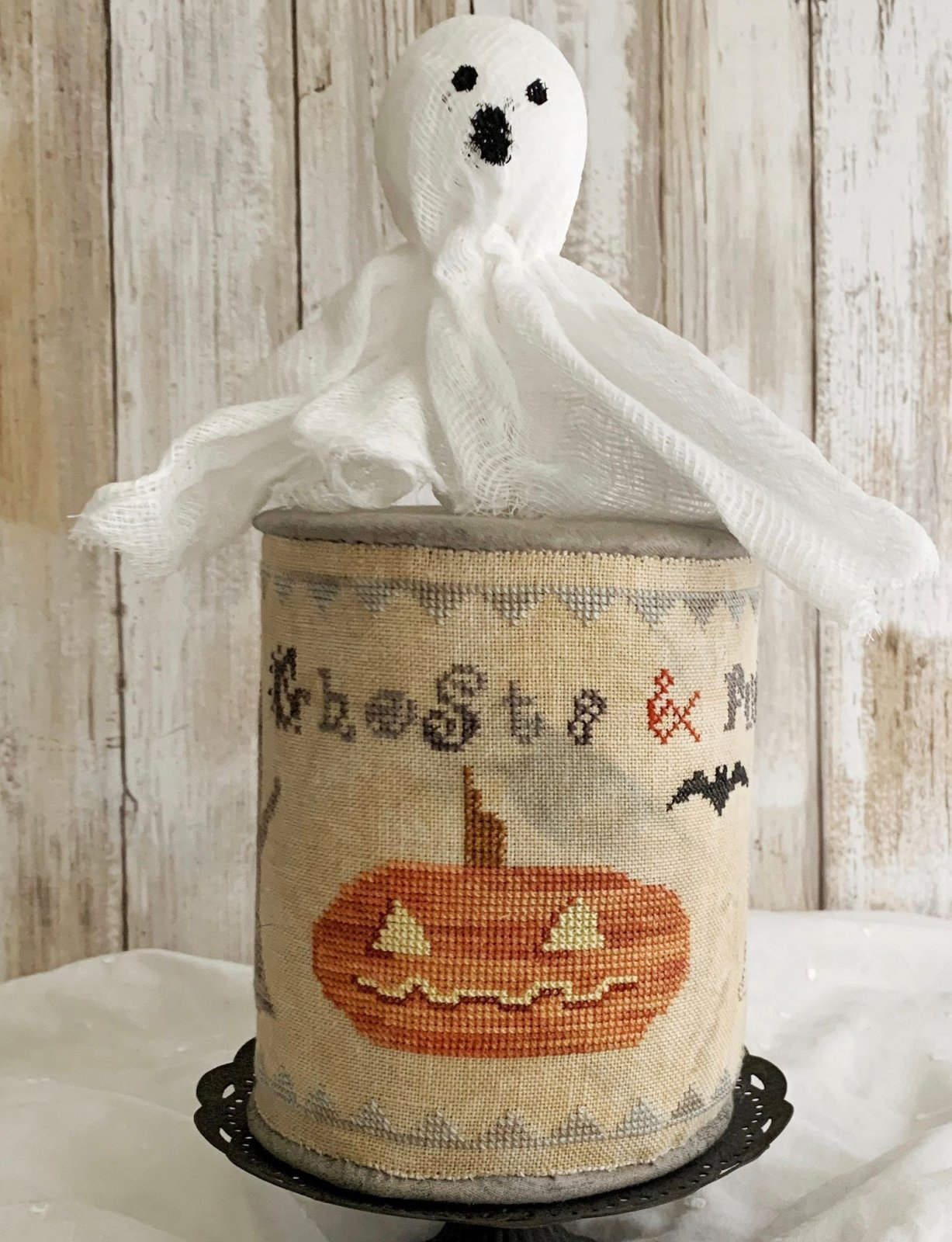 Lucy Beam Love in Stitches Ghosts & Pumpkins Drumroll
