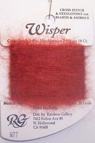 Rainbow Gallery Wisper W77