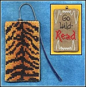 Funk & Weber Designs Wild About Reading bookmark