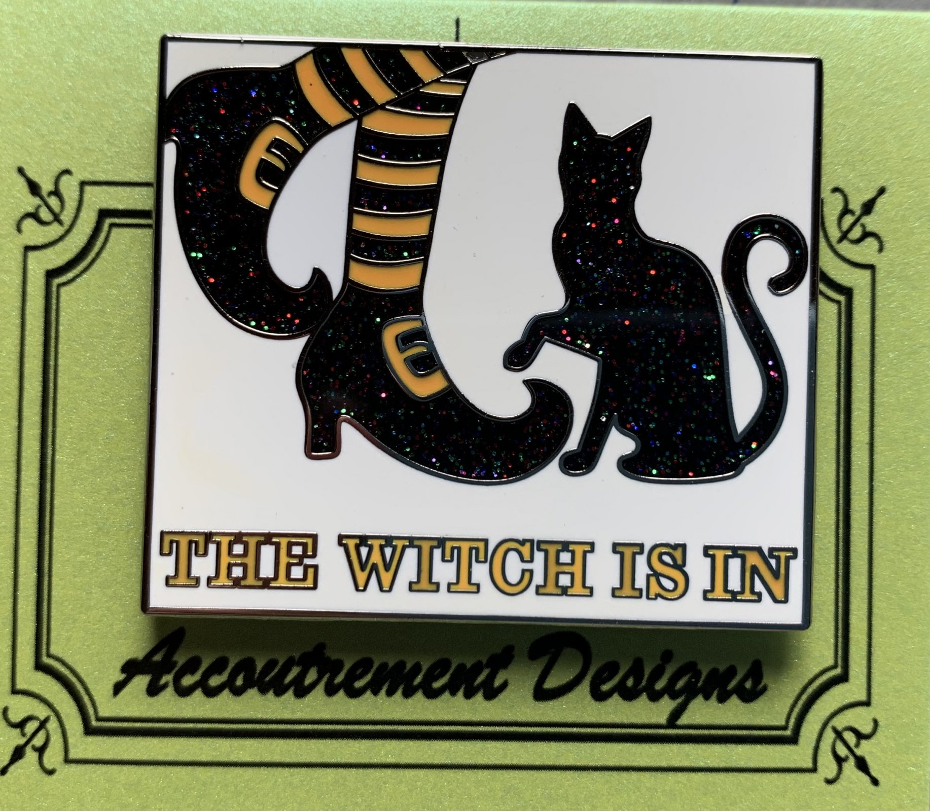 Accoutrement Designs The Witch is In needle minder