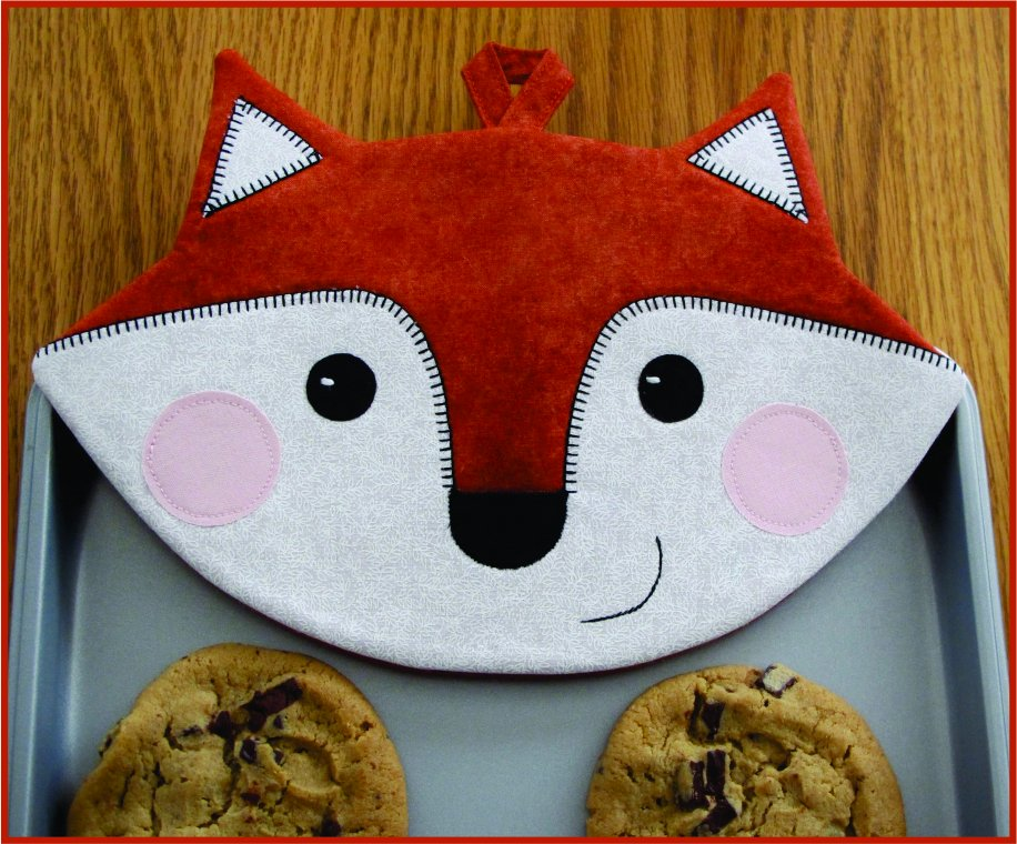 Foxy Pot Holders #ST-1403 (Download)