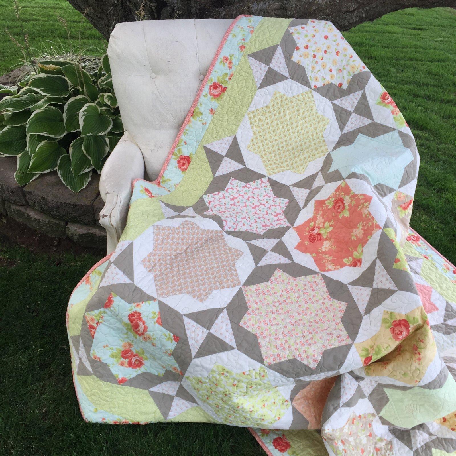 Garden Gate Quilt Kit