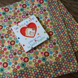 Flannel Self-Binding Baby Receiving Blanket Kit