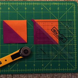 Bloc Loc Half Square Triangle Ruler 3.5