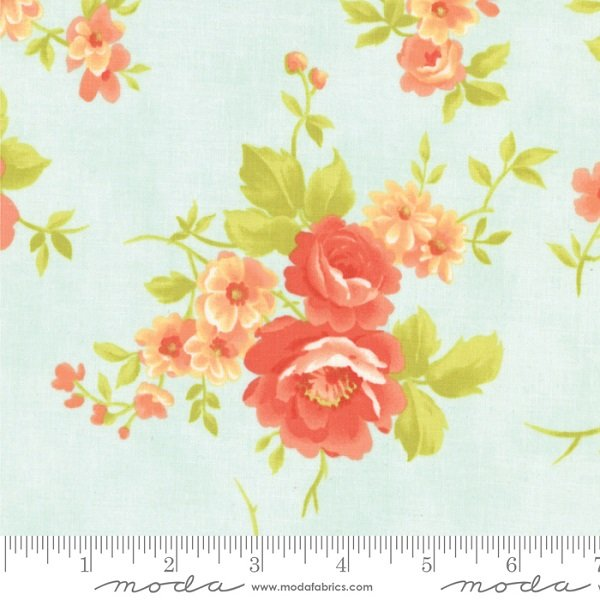 Chantilly For Get Me Not Cabbage Rose by Fig Tree Co for Moda 20340 14
