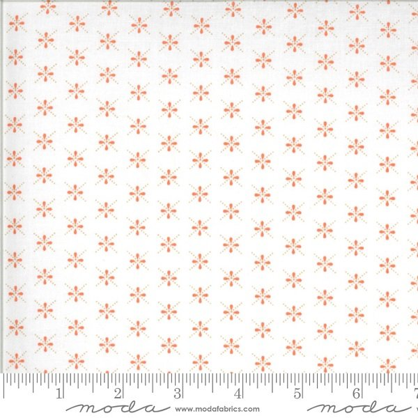 Chantilly Gerbera Dragonflies by Fig Tree Co for Moda 20347-16