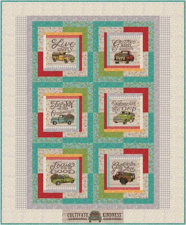 Cultivate Kindness Quilt Kit by Deb Strain