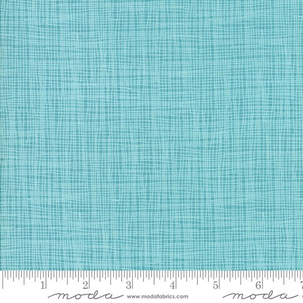 Day In Paris Teal Grid by Zen Chic for Moda 1686-16