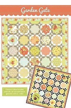 Garden Gate by Joanna Figueroa for Fig Tree Quilts.