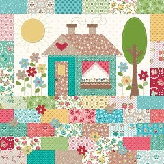 Granny's Chic House Pillow Kit by Lori Holt