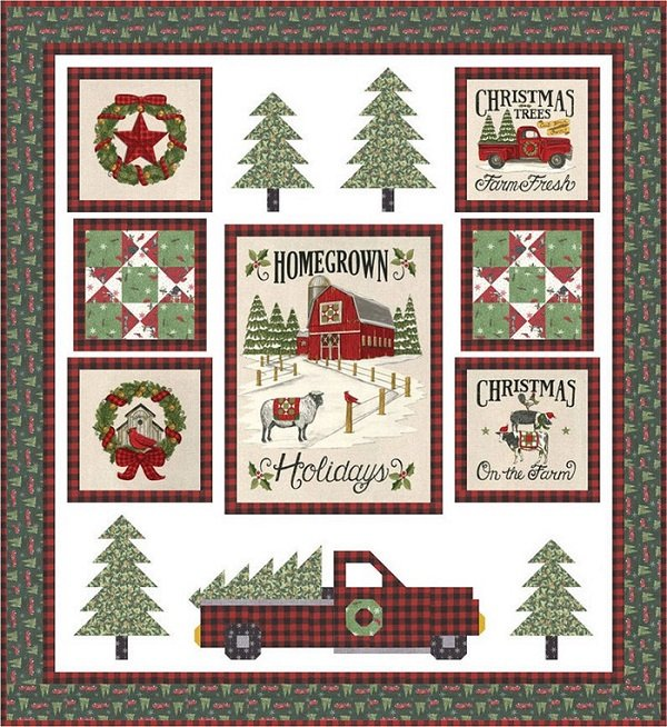 Homegrown Holidays Kit by Deb Strain