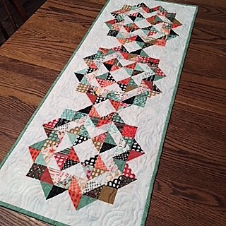 Hopscotch Table Runner