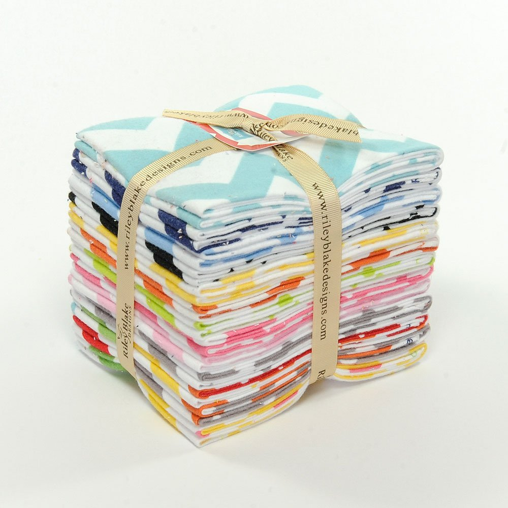 Medium Chevron Flannel Fat Quarter Bundle