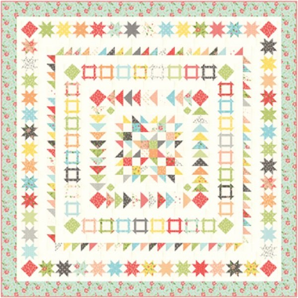 Gelato Quilt Kit w/Summer Sweet Fabrics