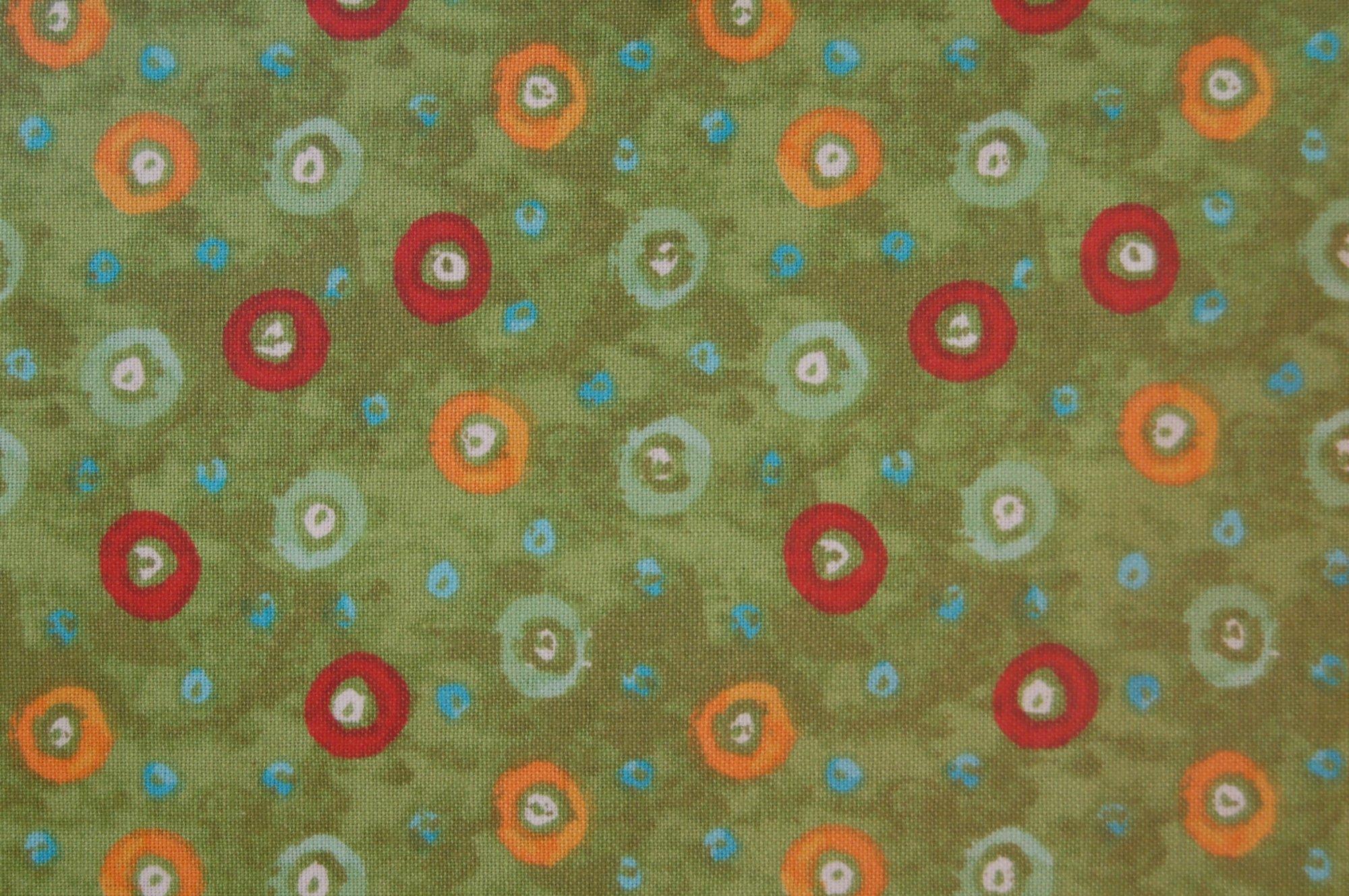 Kassita - Multi Dots Green from 3 Wishes