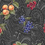 Avignon - Fruit and Paisley from Benartex