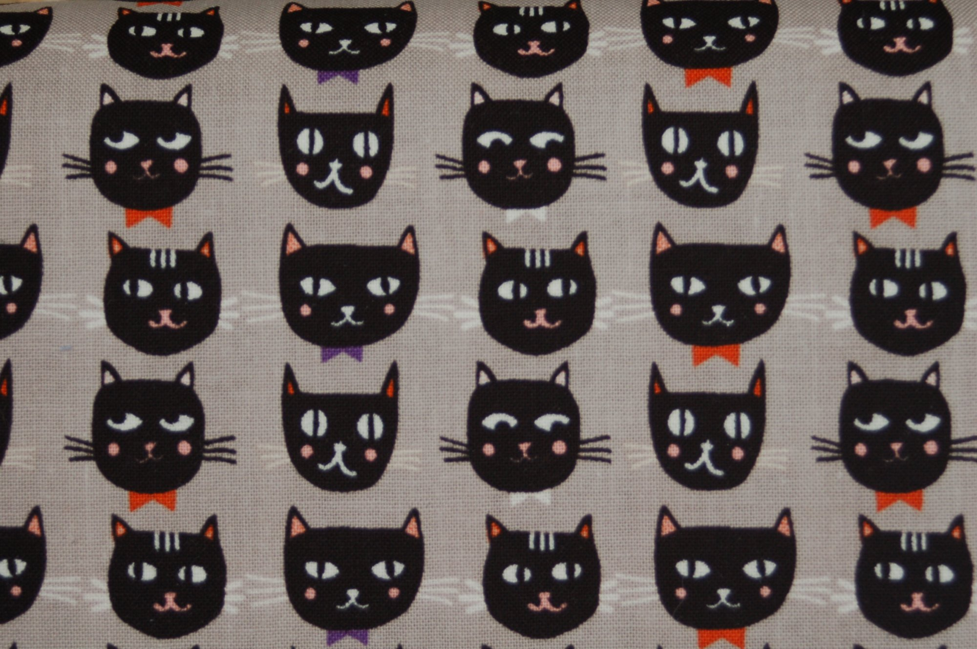 Cats, Bats and Jacks Black Cats for Riley Blake