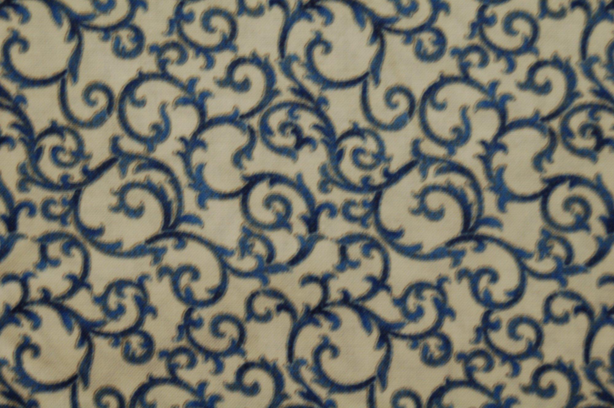 Arabella - Blue Swirl from Benartex