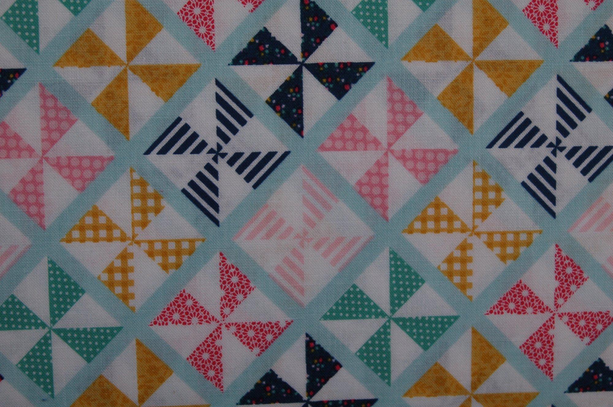 Glamping Pinwheels from Dani Mogstad for Riley Blake