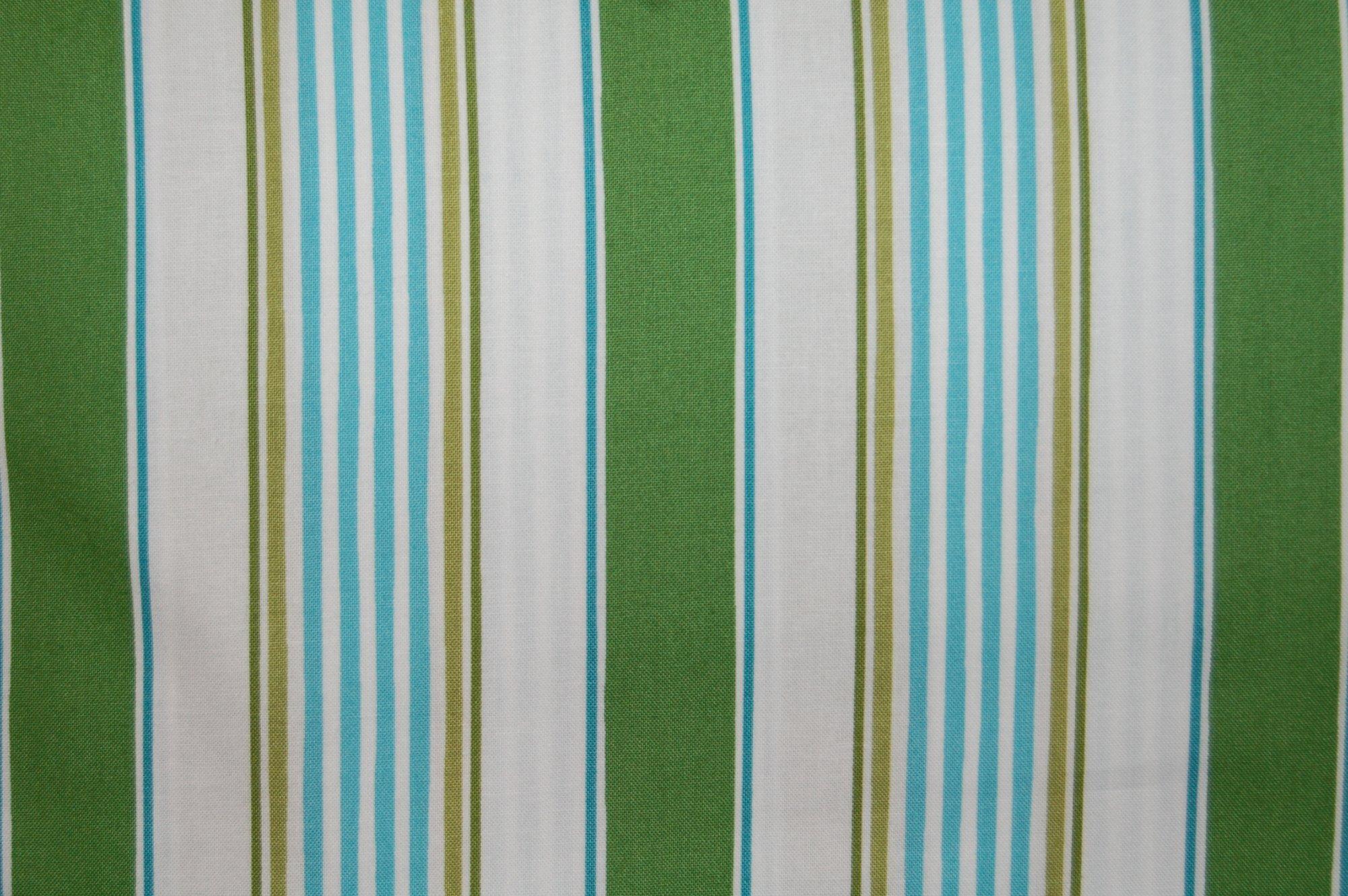 Merry Mistletoe - Linen Stripe (Green) from Dena Designs for Free Spirit