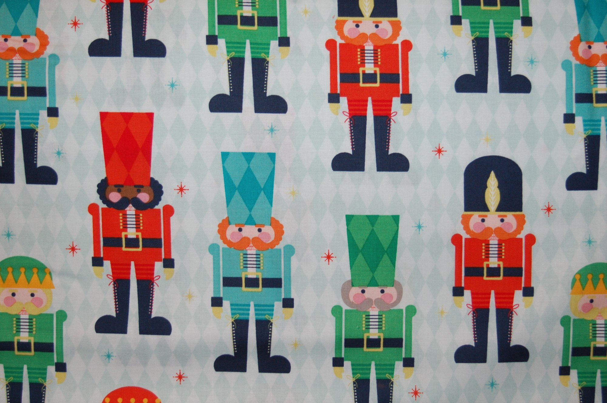 Nutcracker Christmas - At Attention from Riley Blake Designs