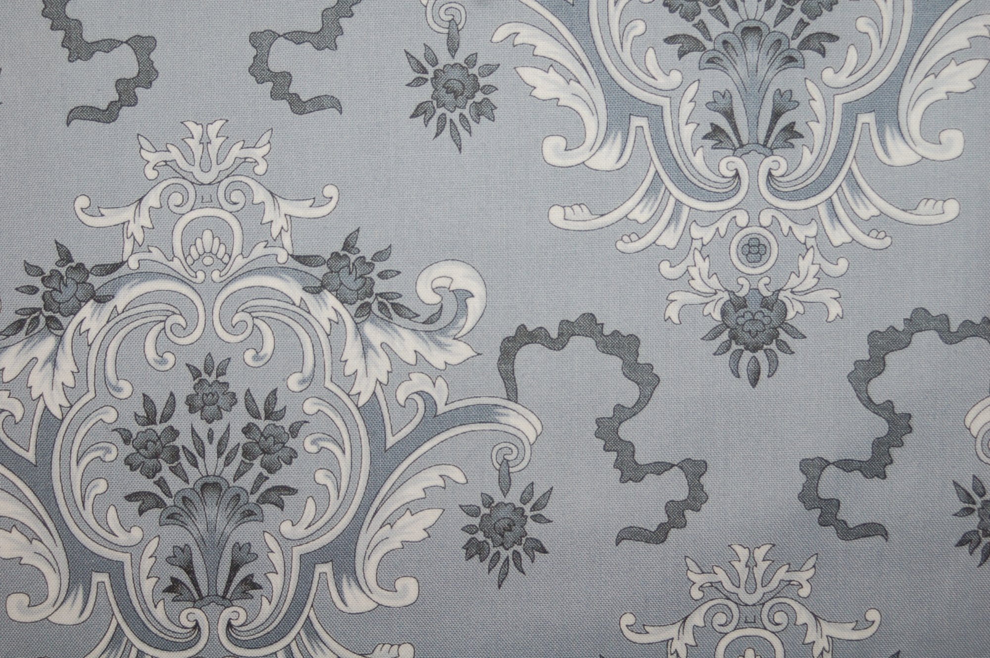 Candelabra - Eerie Toile (Crow) from Verna Mosquera for Free Spirit Designs