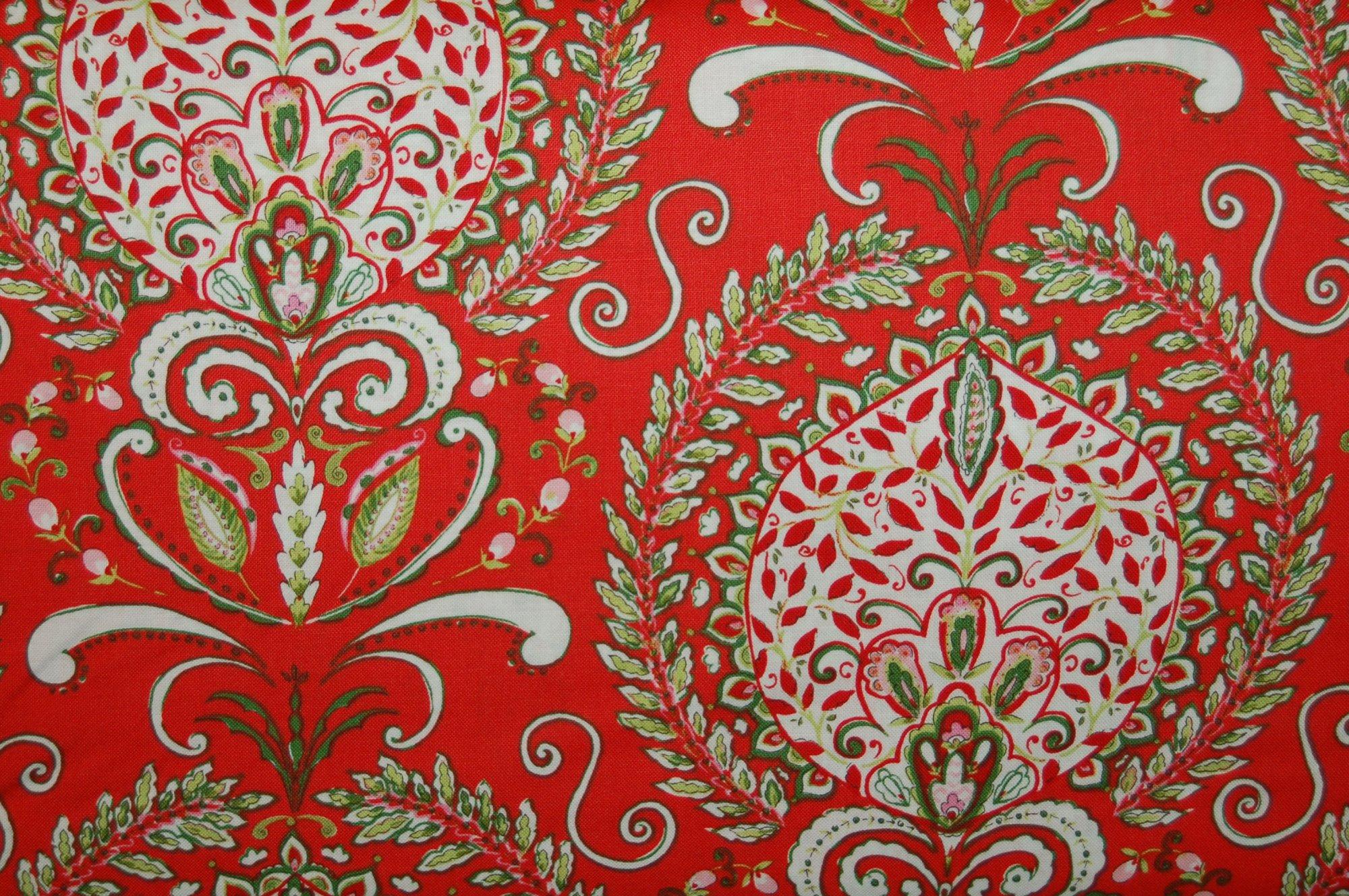 Merry Mistletoe - Peyton (Red) from Dena Designs for Free Spirit