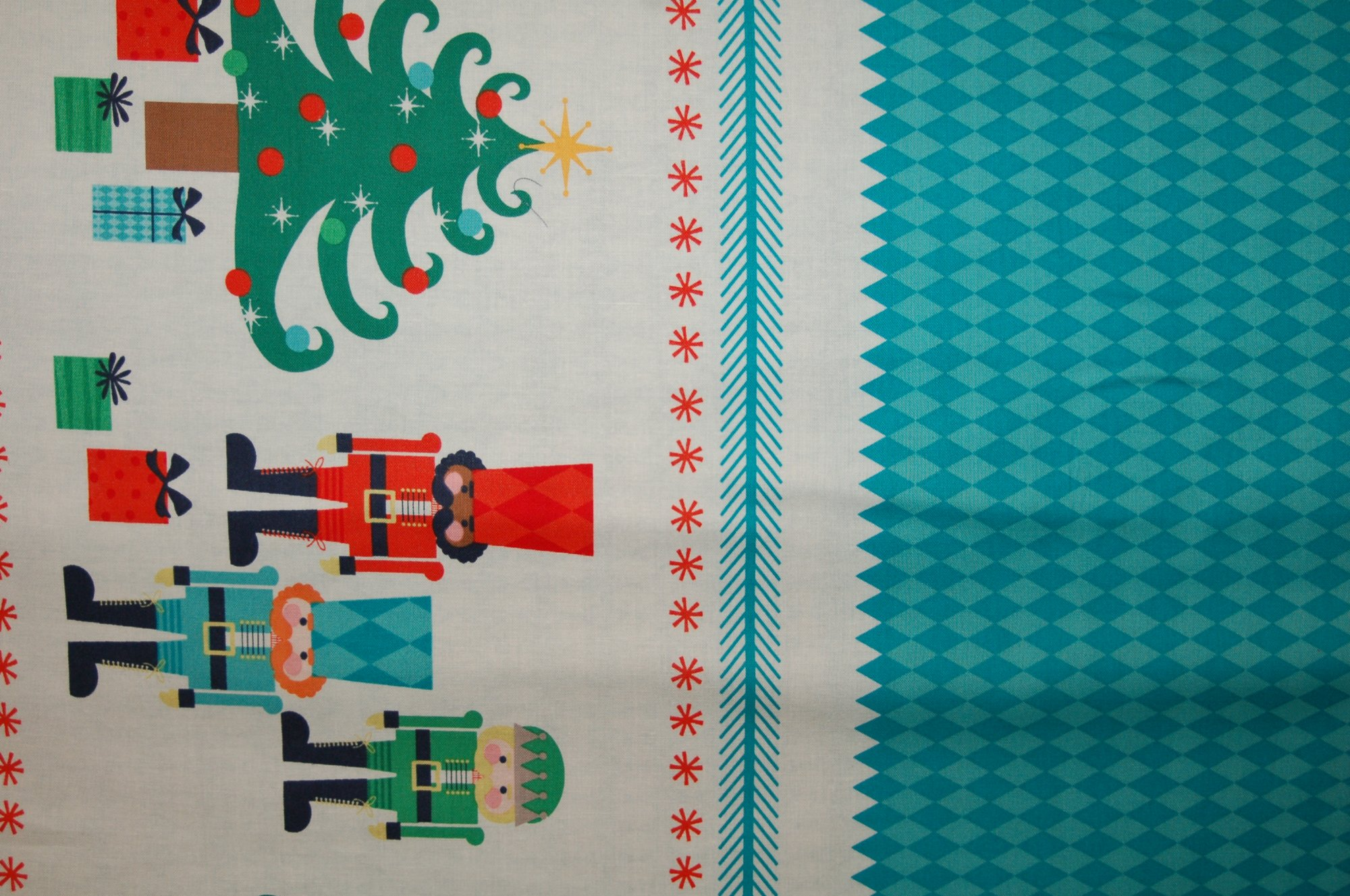 Nutcracker Christmas - Border from Riley Blake Designs