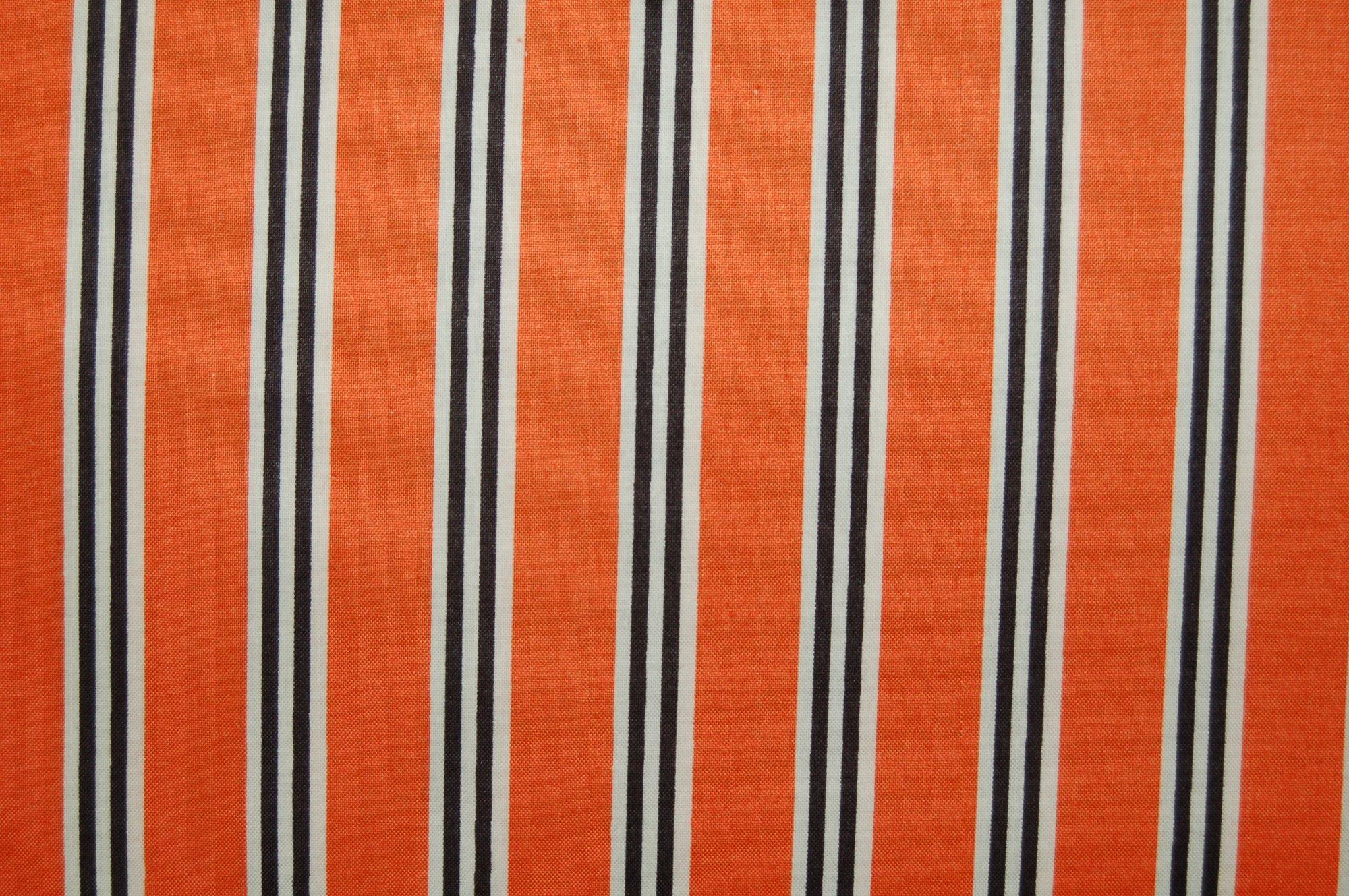 Candelabra - Candy Stripe (Orange) from Verna Mosquera for Free Spirit Designs