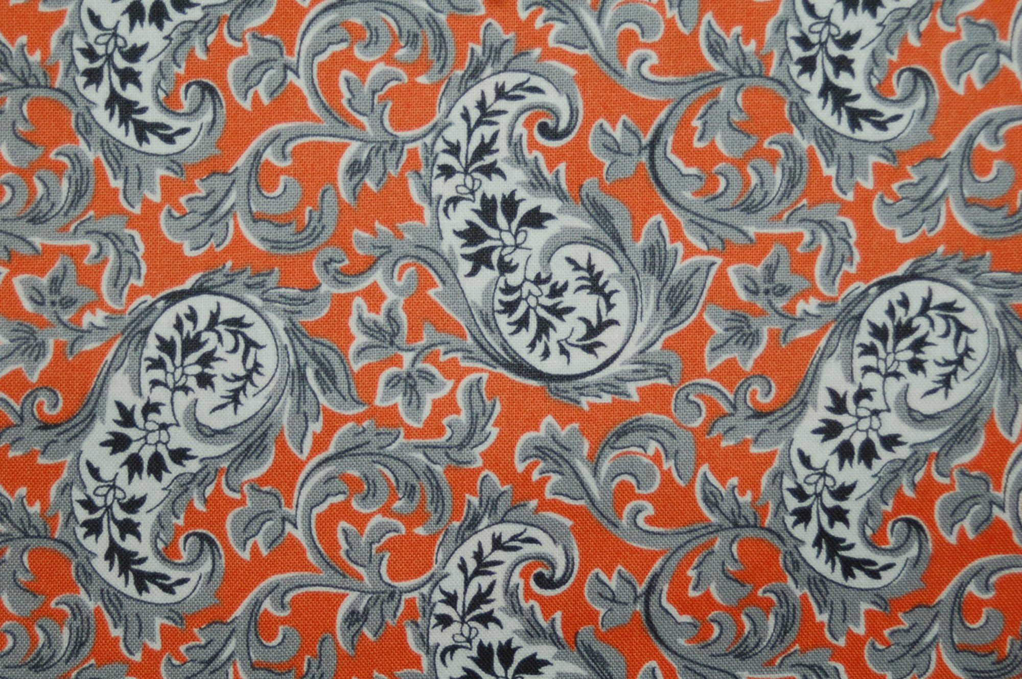 Candelabra - Paisley Potion (Orange) from Verna Mosquera for Free Spirit Designs