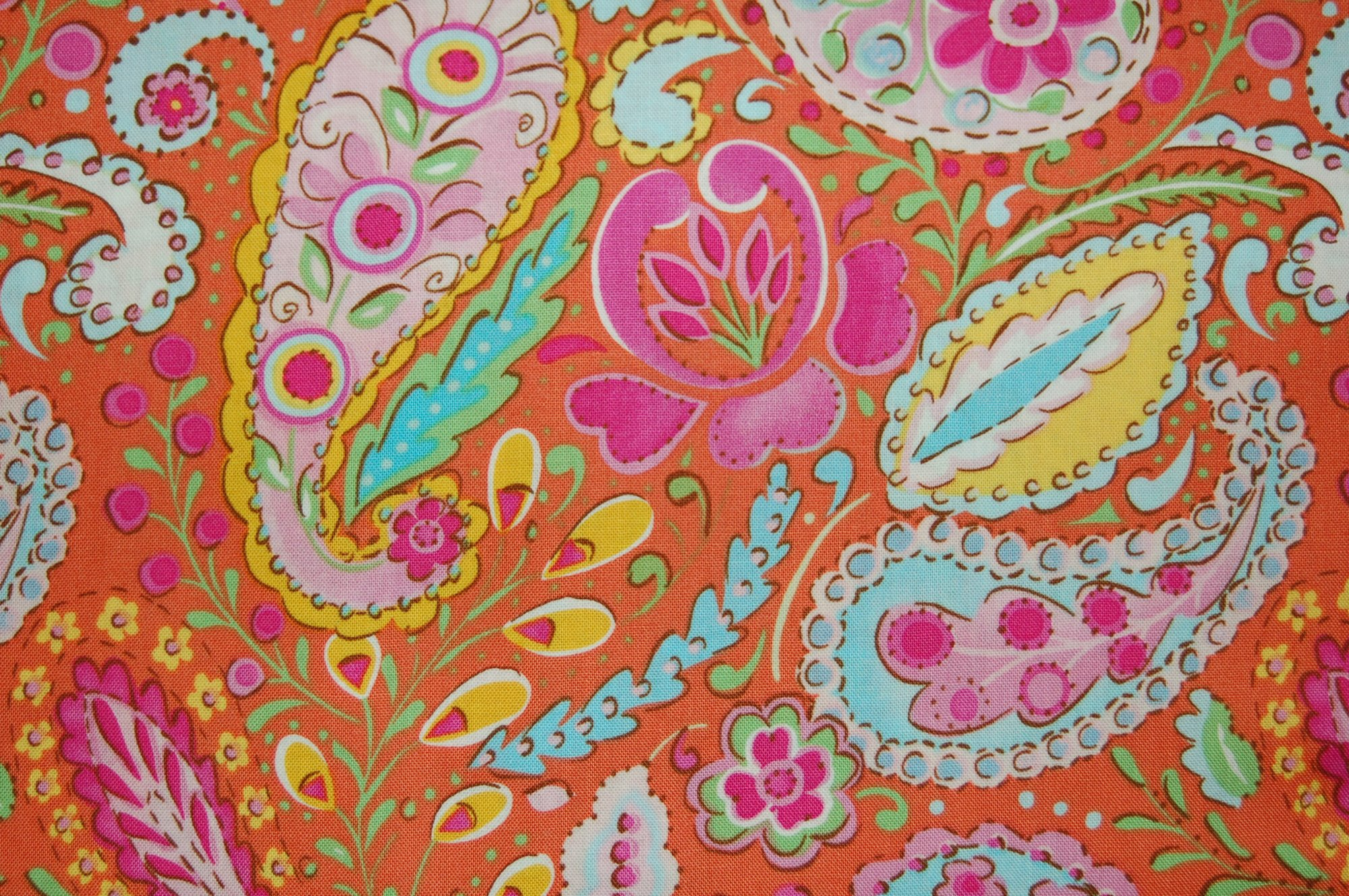 Tiddlywinks - Paisley by Dena Designs for Free Spirit