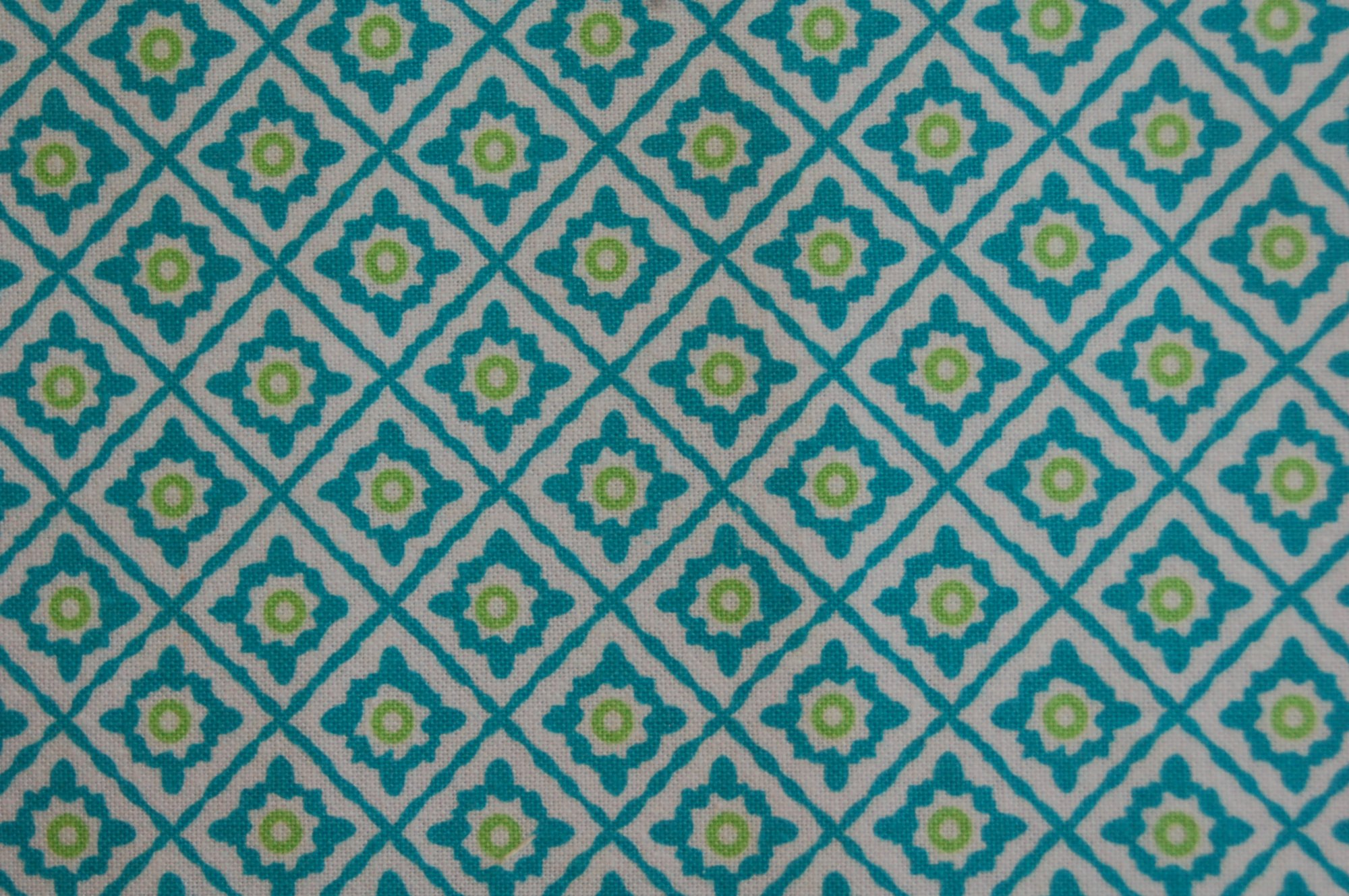 Turquoise Motif from Exclusively Quilters