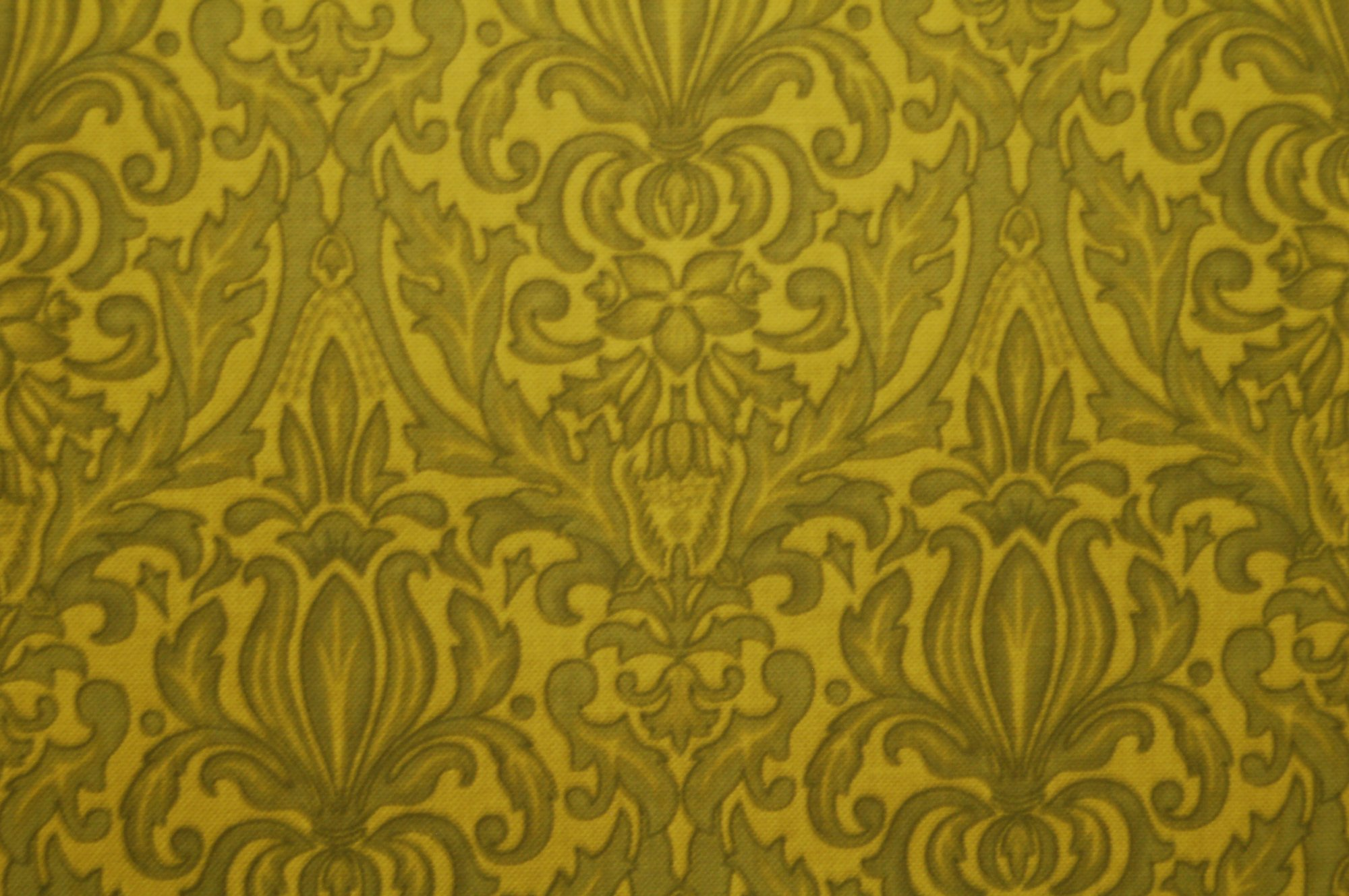Poetica - Scroll and Motif Green from Exclusively Quilters