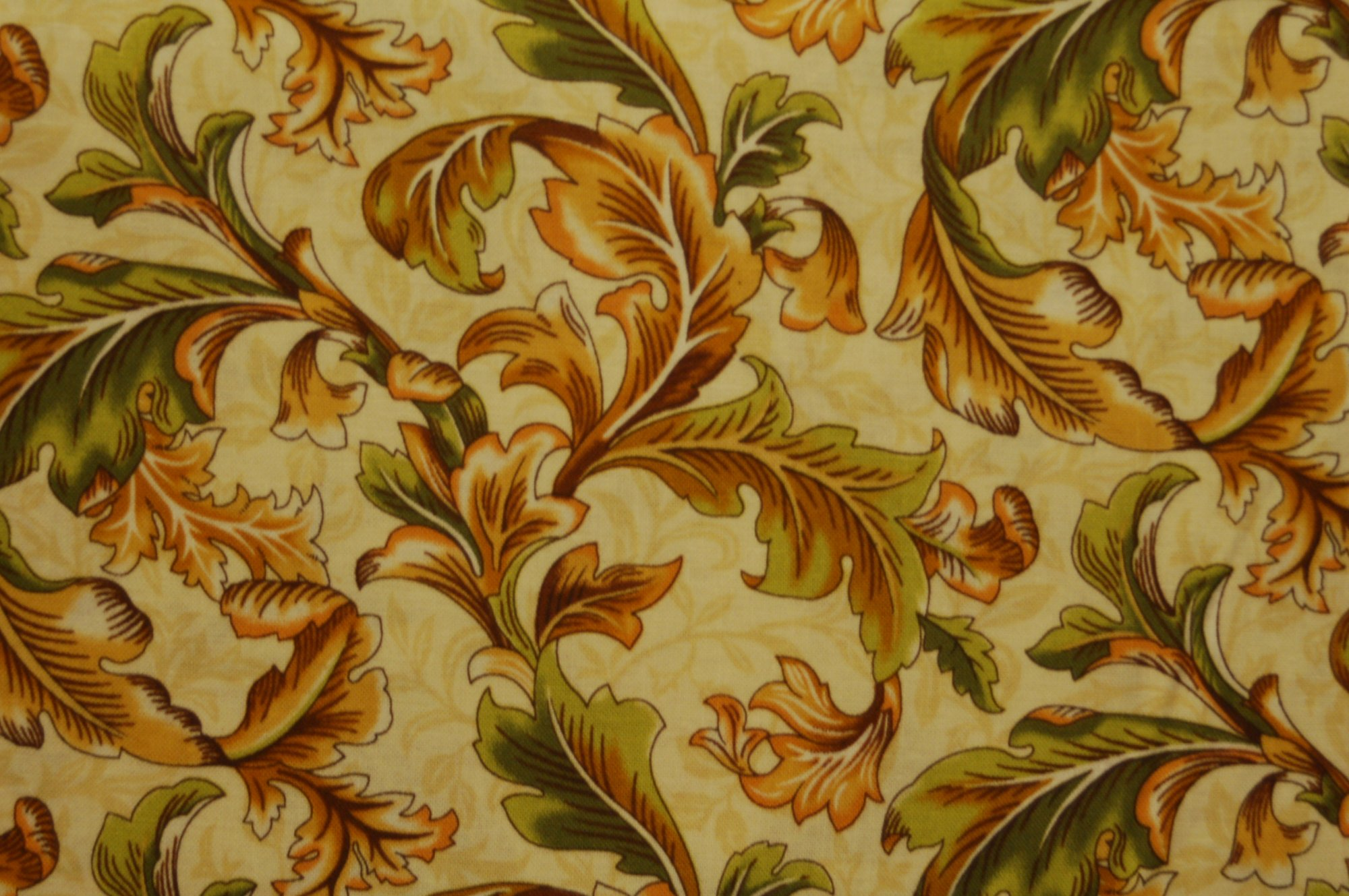Poetica - Feathered Leaves from Exclusively Quilters