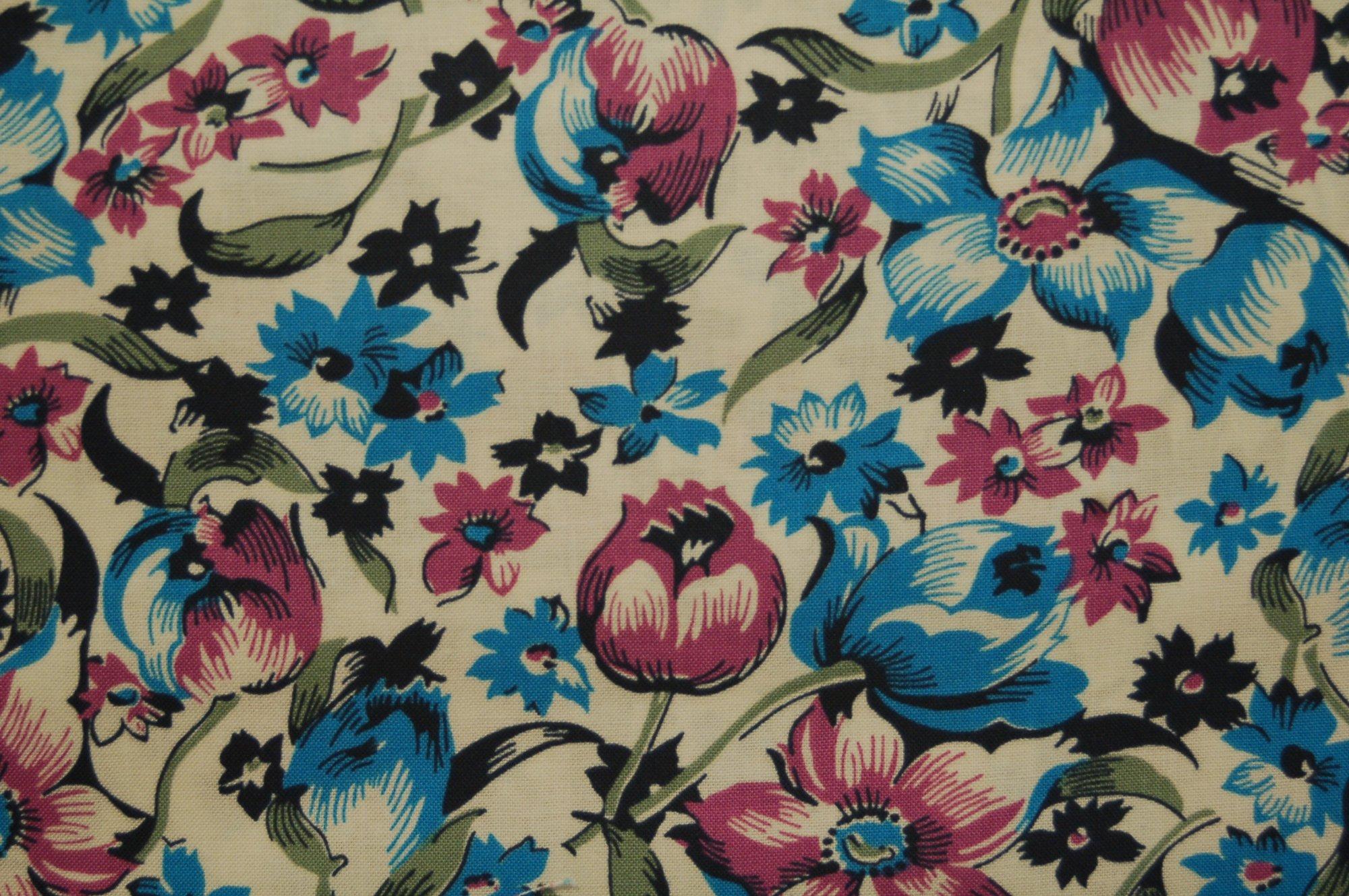 Shelburne Falls Dress Floral (Lilac) by Denyse Schmidt for Free Spirit