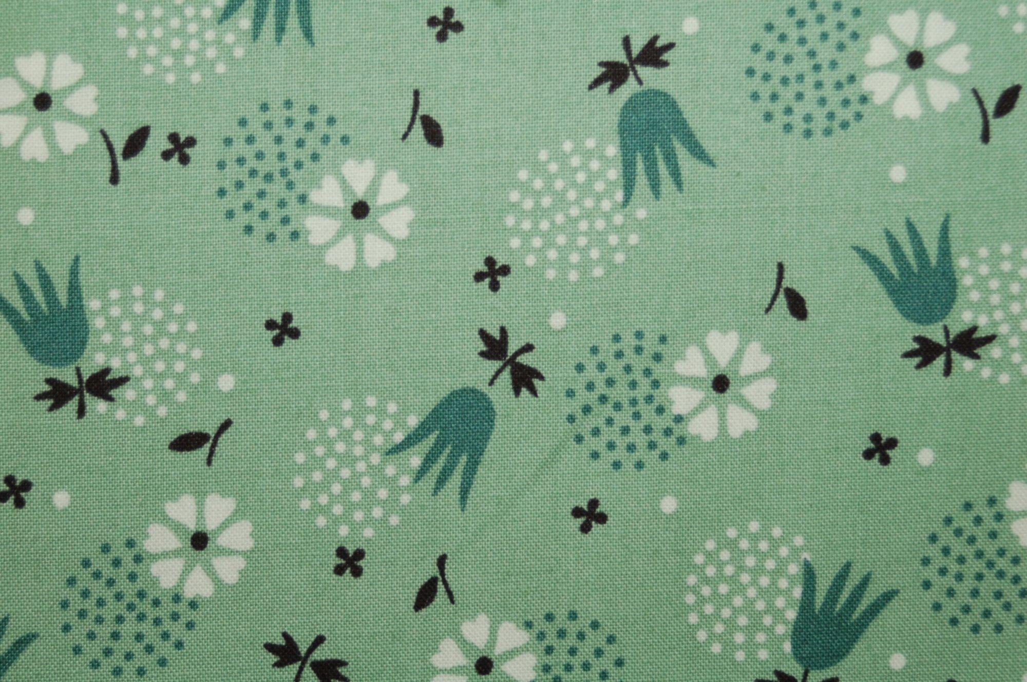 Eastham - Tulip Burst (Juniper) from Denyse Schmidt for Free Spirit Fabrics