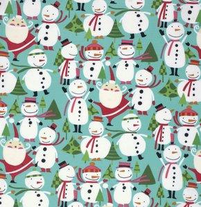 Winter Wonderland - Merry Snowmen by David Walker for Free Spirit